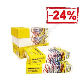 EURO BASIC fotokopir papir A4, 80 gr , 100 riseva,  20 kutija