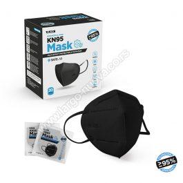 PRO SAFE PLUS KN95 CRNA, zaštitna maska ( 20 komada )