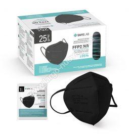 FFP2 nr zaštitna maska, CRNA ( 25 komada )